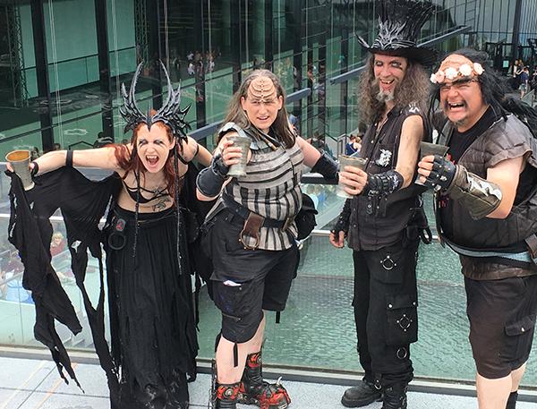 Klingonen Vampire cosplay