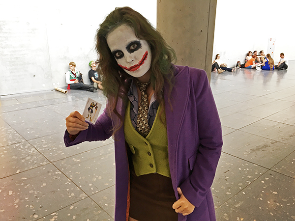 gender swap joker cosplay