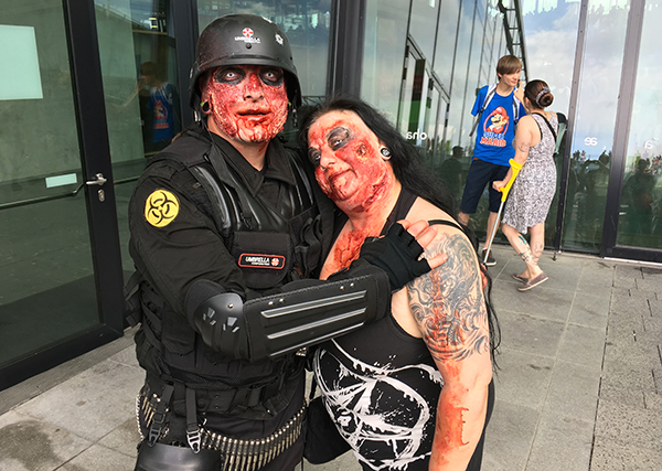 umbrella zombies cosplay