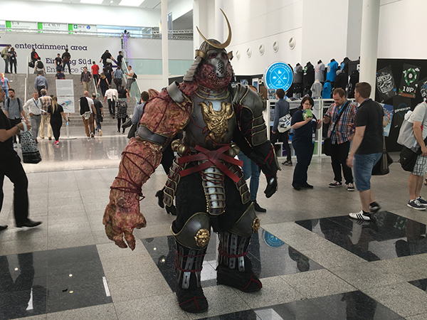 mutant samurai cosplay